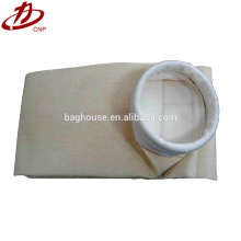 Dust filter bag for asphalt plant, flour mill